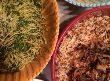 אוכל של בית צימחוני – 4 מנות לארוחה נפלאה