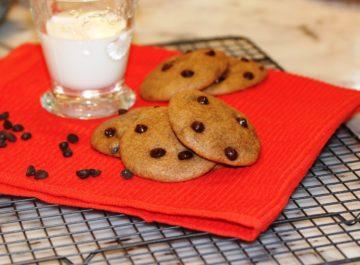 עוגיות שוקולד צ'יפס דלעת מעולות לפורים
