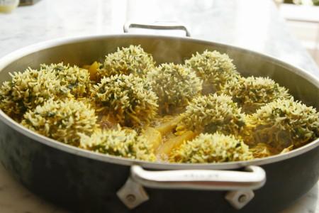 קיפודי אורז ובשר פרסיים לחג