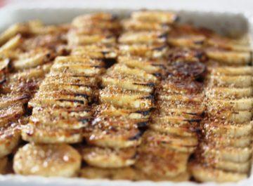 עוגת ביסקוויטים עם בננות – טעם של פעם