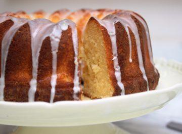 עוגת לימון חתיכה או לה לה