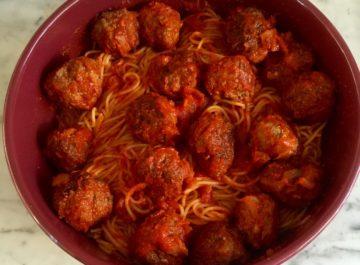 ספגטי מיט בולס – ישר מאמריקה