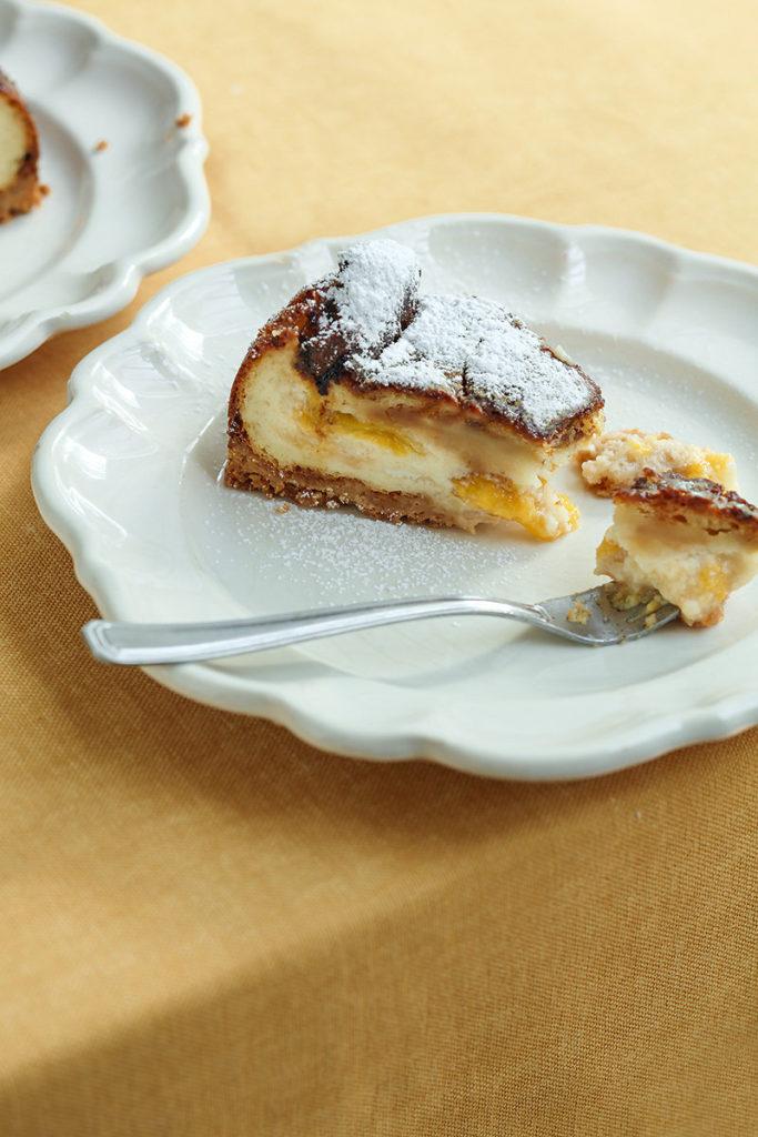עוגת גבינה עם שזיפים 2