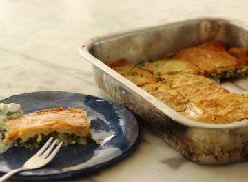ספנקופיטה – או פשטידת תרד יונית הכי טעימה
