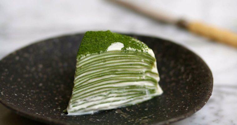 עוגת קרפים של מאצ'ה
