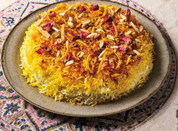 אורז לבן פרסי חגיגי