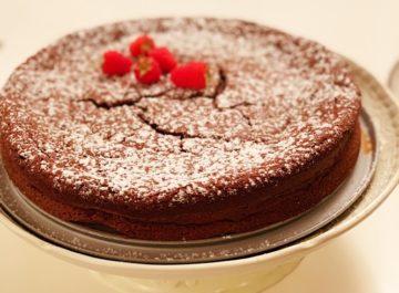 עוגת סופלה שוקולד ללא קמח