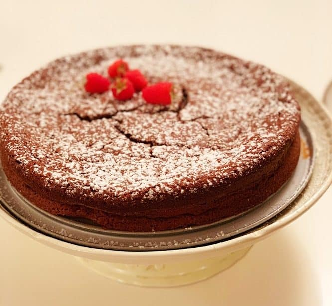 עוגת סופלה שוקולד