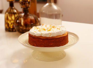 עוגת קלמנטינות ושקדים בחושה