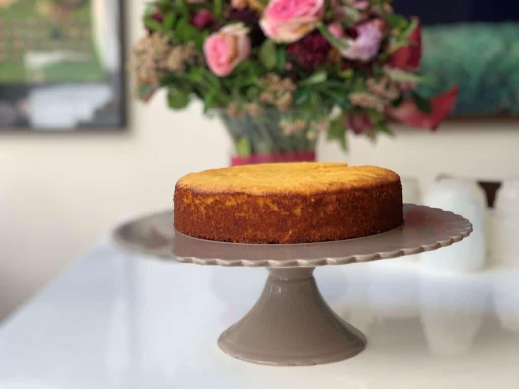 עוגת פולנטה לימון כשרה לפסח