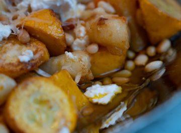 ניוקי תפוחי אדמה אוורירי ברוטב כתומים