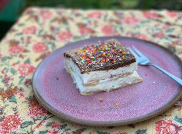 עוגת ביסקוויטים של אמא של מיכי