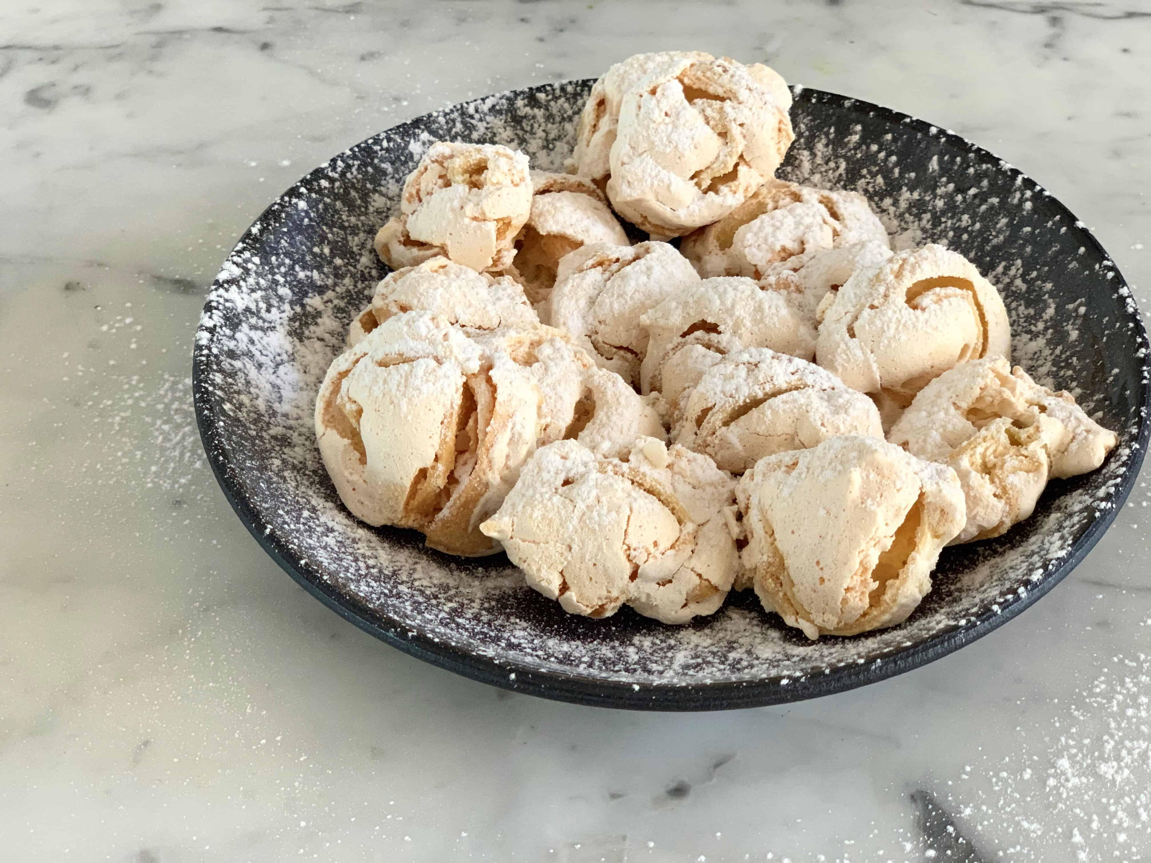 עוגיות שושנים קצף של אמא