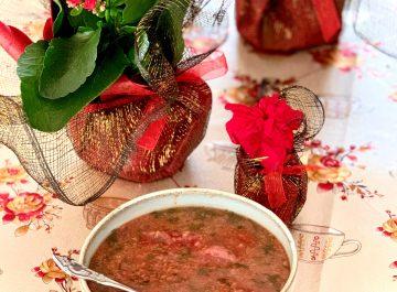 מרק אש טורש טבעוני פרסי